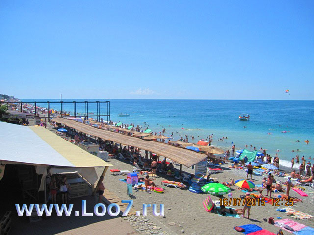 Лоо частный сектор пляж центральный