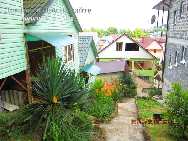 Отдых в Лоо отдельно стоящие домики