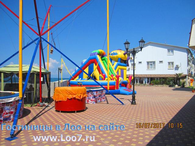 Отдых в Лоо гостиницы у моря