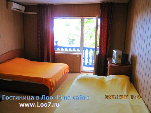 Отдых в Лоо частные недорогие гостиницы у самого моря на первой линии