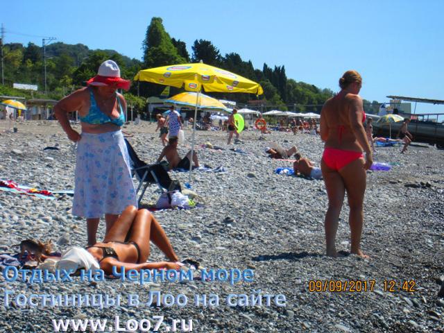 Пляж в Лоо от гостиницы 32 в шести минутах