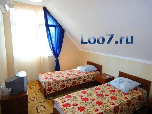 Частный сектор поселка Лоо ул. жигулевская