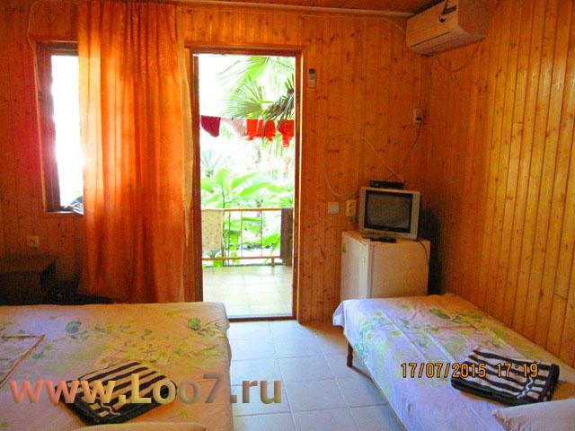 Частный сектор домики в Лоо у моря