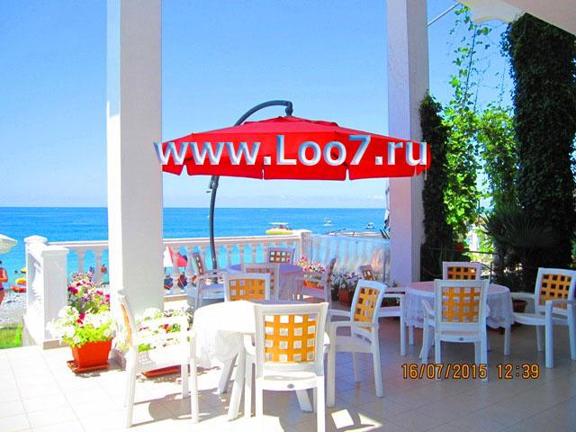 Кафе бары рестораны на пляже в Лоо частный сектор