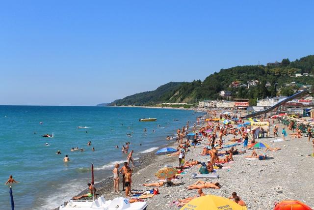 Отдых на Черном море в Лоо, частные гостиницы на море