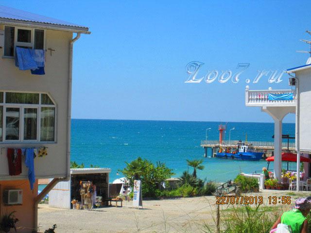Лоо гостиницы у самого моря фото