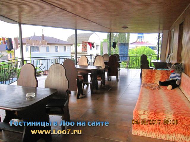 Панорама Лоо открывается с гостиницы