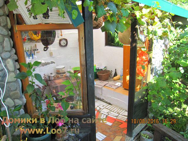 Домики в Лоо с кухней фото
