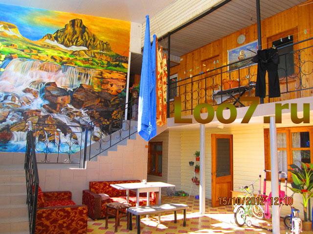 Отдых в Лоо частные гостиницы