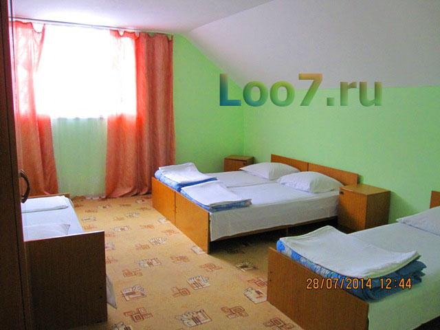 Лоо отдых у моря частные гостиницы с бассейном