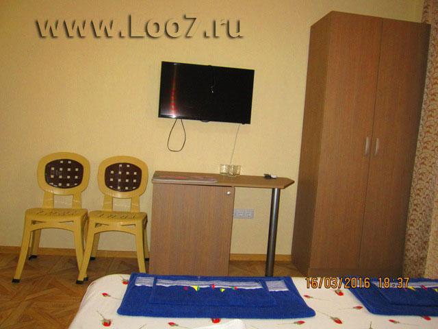 Частный сектор поселка Лоо гостиницы на первой линии цены описания фото на сайте www.Loo7.ru