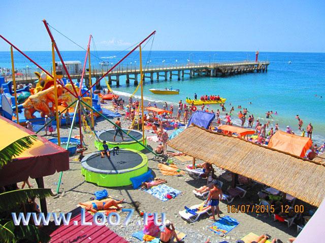 Лоо пляж развлечения для детей и взрослых фото