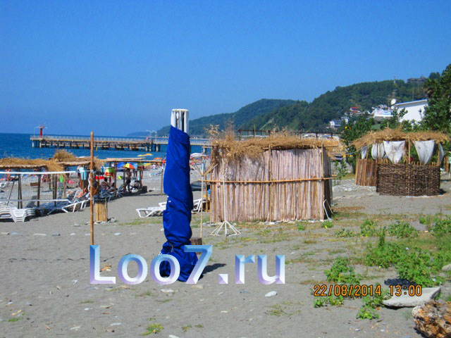 Лоо пляж рядом с эллингами