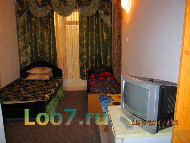 Частный сектор Лоо с фото сделанное отдыхающими