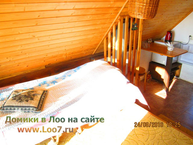 Домики в Лоо снять недорого у моря