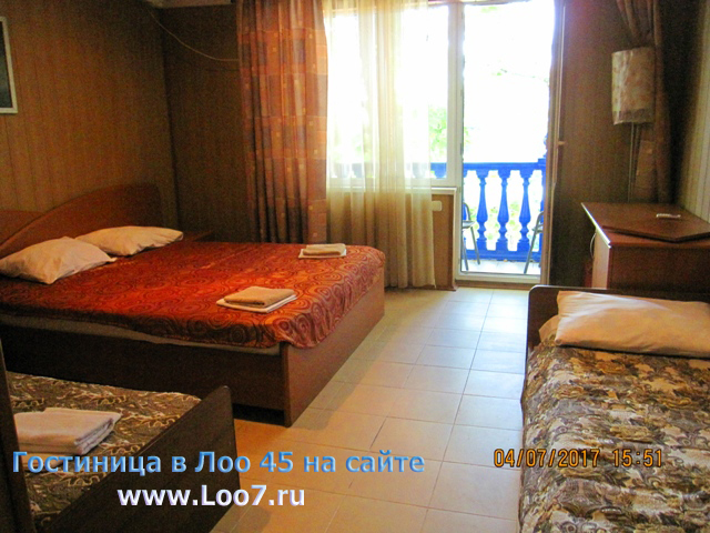 Лоо гостиницы на берегу моря