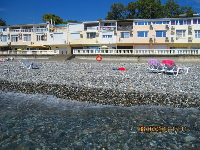 Все эллинги в Лоо на берегу моря фото с моря