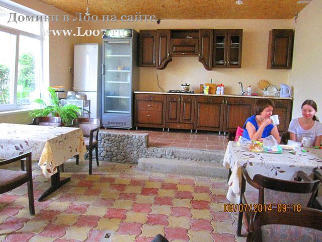 Домики в Лоо с кухней
