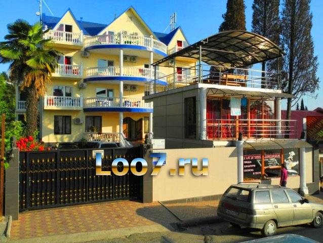 Гостиницы в Лоо в центре