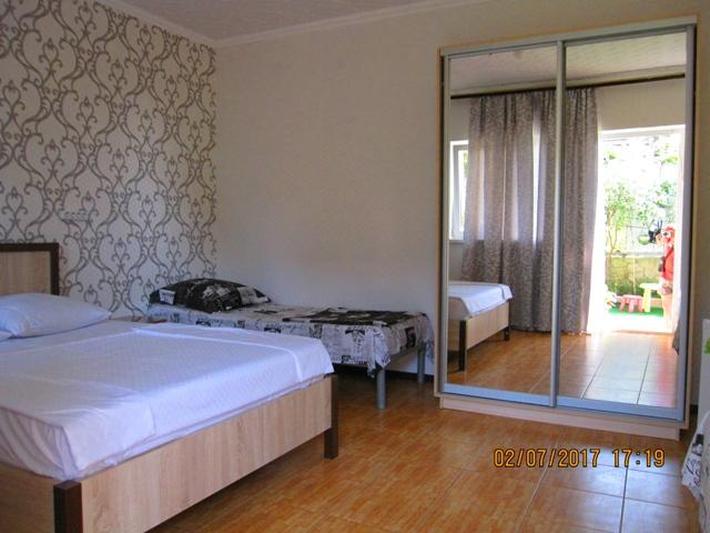 Мини гостиница в Лоо 2 номера у самого моря недорого цена без посредников