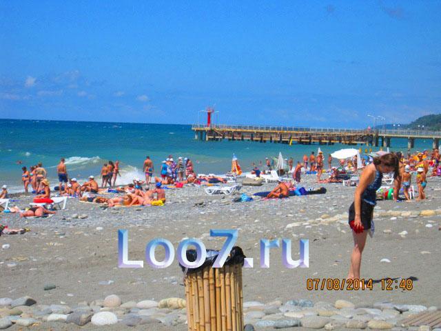 Эллинг в Лоо 18 фото пляжа