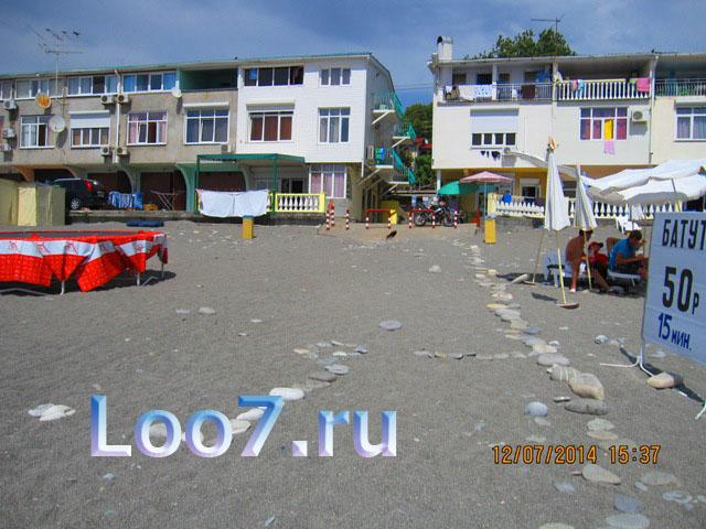 Эллинги в Лоо на ул азовская, стоимость номеров с видом на море