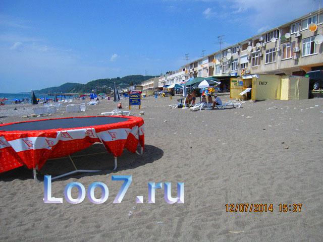 Фото Лоо с моря частный сектор пляж