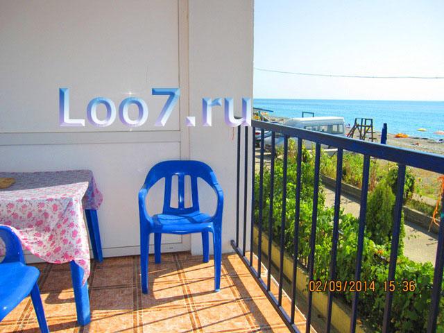 Отдых в Лоо номера с балконом, фото цены