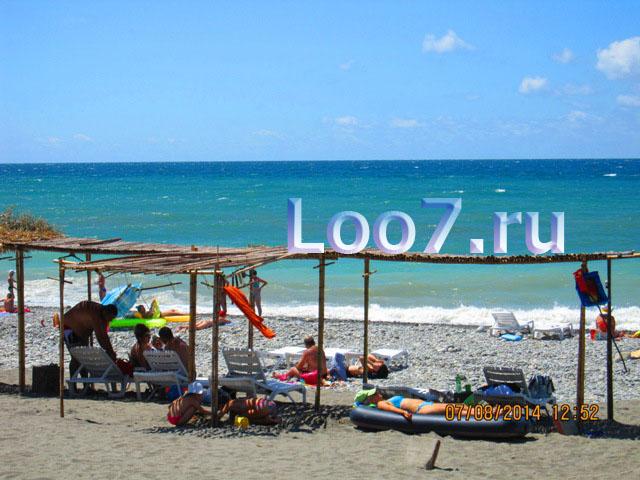 Отдых в Лоо частный сектор у самого моря недорого по низкой цене
