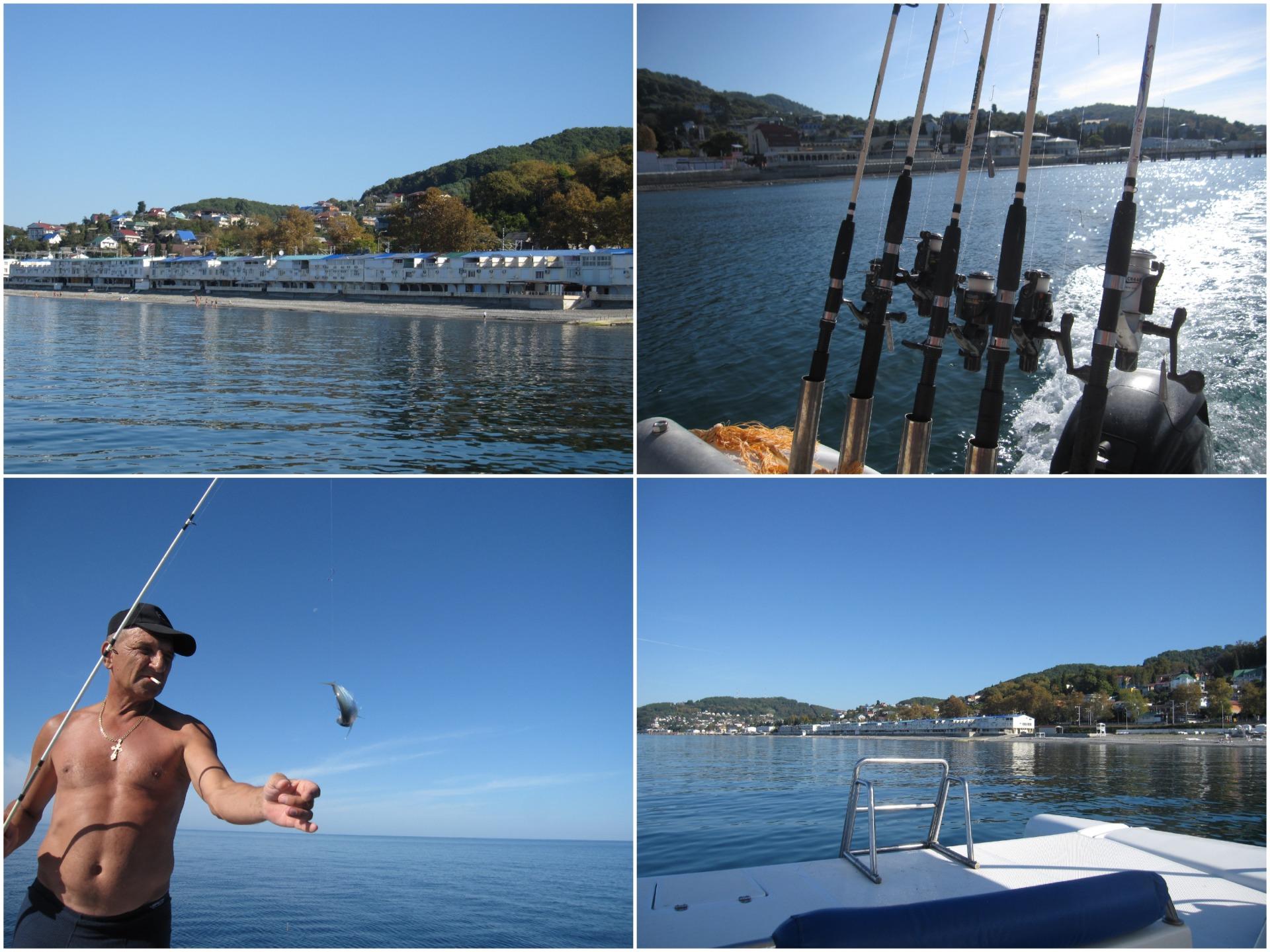 Отдых в Лоо морская рыбалка