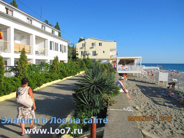 Гостиницы эллинги в Лоо у самого моря цены за номер без посредников