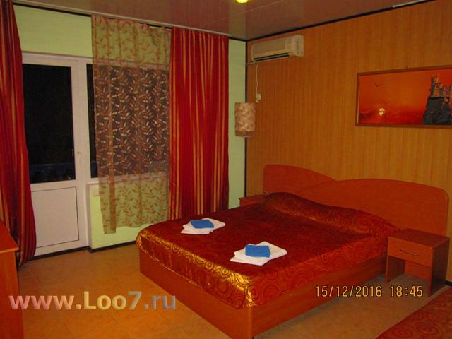 Отдых в Лоо гостиницы у самого моря