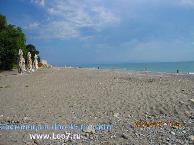 Лоо пляж гостиницы у моря