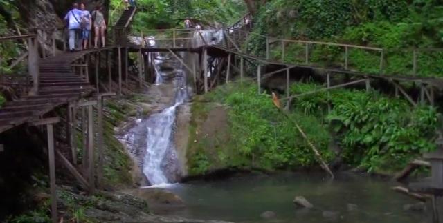 33 водопада  ручей Джегош