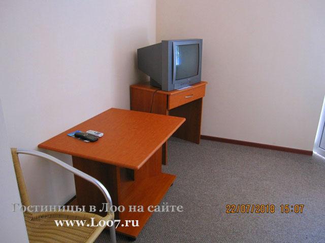 Недорого двух комнатный номер в Лоо можно снять у нас в гостинице