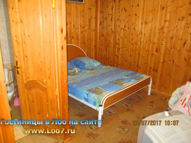 Номера стандарт в деревянных домиках недорого