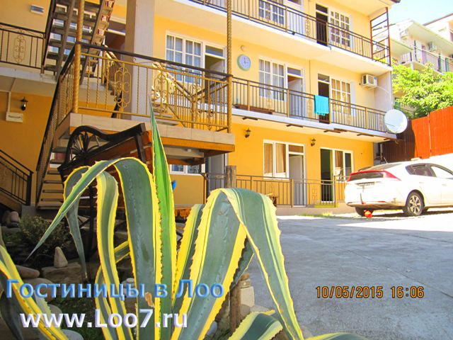 Гостиница в Лоо 2 частный сектор у самого моря