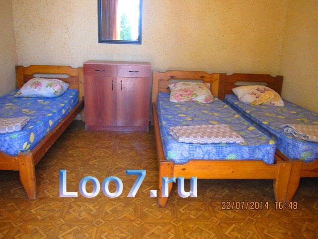 Частные гостиницы в Лоо возле моря