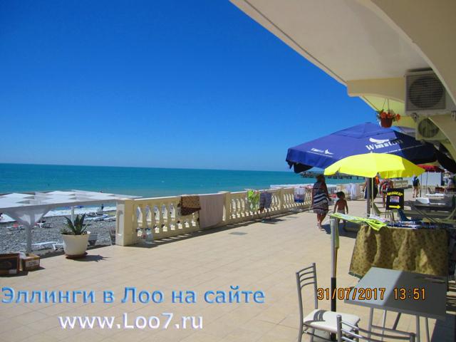 Лоо гостиницы у самого моря фото цены