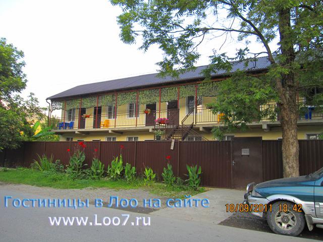 Мини гостиница в Лоо 15 вид с улице Декабристов