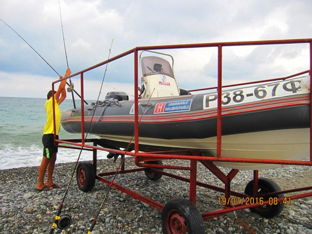Морская рыбалка в Лоо развлечения отдых