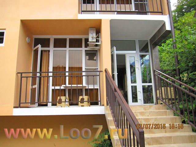 Частные гостиницы в Лоо номера с балконом недорого цены фото отзывы