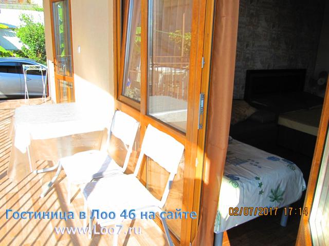 Гостиницы в Лоо рядом с морем номера цены фото отзывы