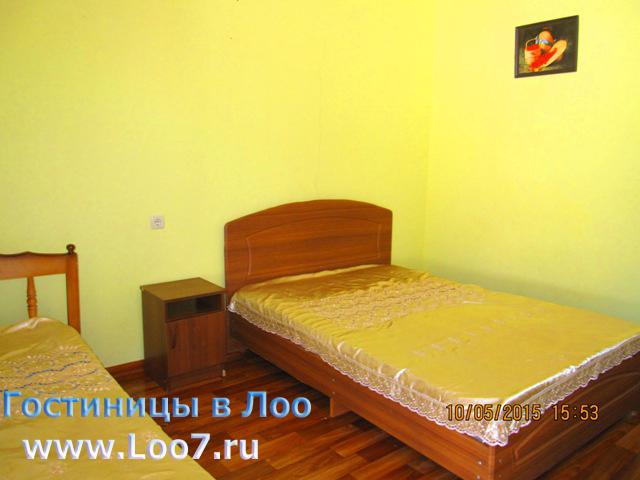 Гостиницы в Лоо частный сектор у самого моря