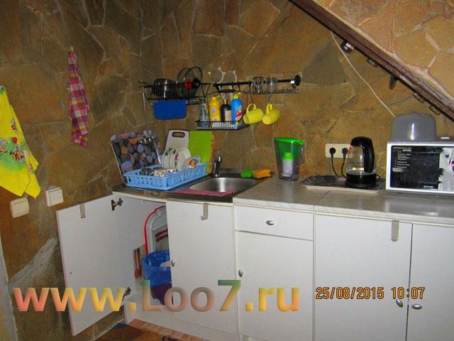 Эллинги в Лоо с кухней в номере фото цены