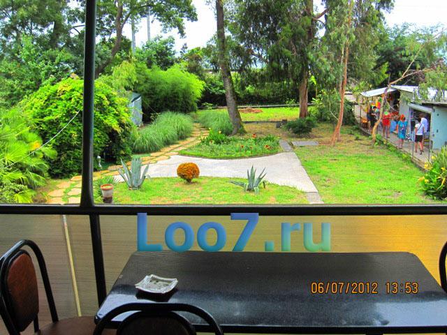 Отдых в Лоо частный сектор первая линия гостевые дома