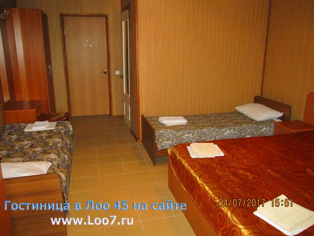 Лоо отдых частные гостиницы, цены без посредников