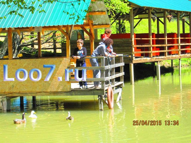 Отдых в Лоо частный сектор рыбалка в озере
