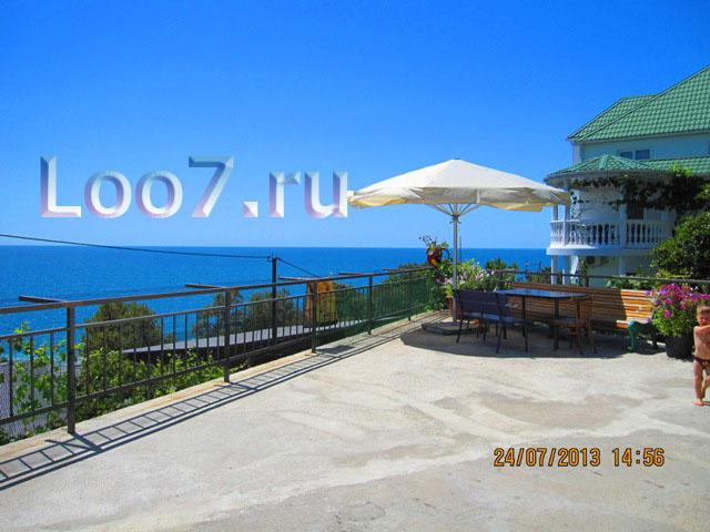 Гостиницы в Лоо недорого цены без посредников, фото частный сектор поселка Лоо, гостиницы в Лоо на берегу Черного моря