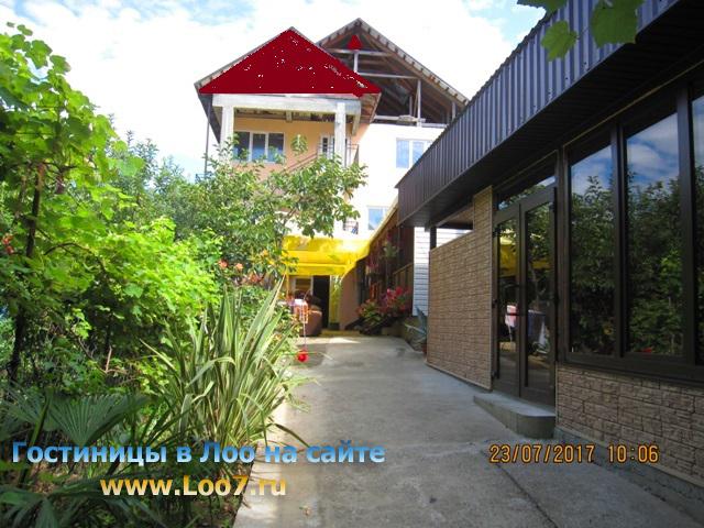 Гостиница в Лоо 3 рядом с морем